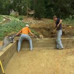 Construction of a Wood Retaining Wall for Your Homestead