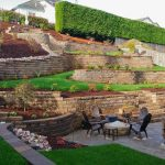 Landscape Retaining Wall on Slopes and Best Practices